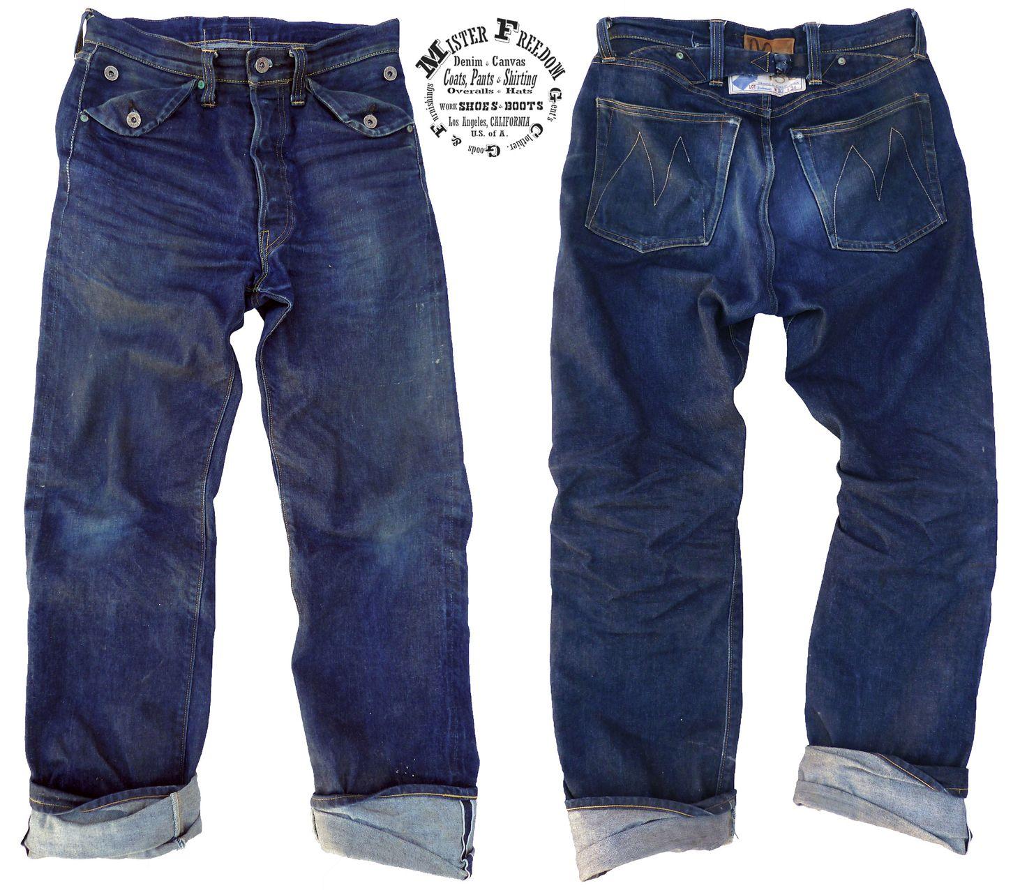 Buckaroos Mr Freedom Denim Inspiration American Casual Edwin Jeans