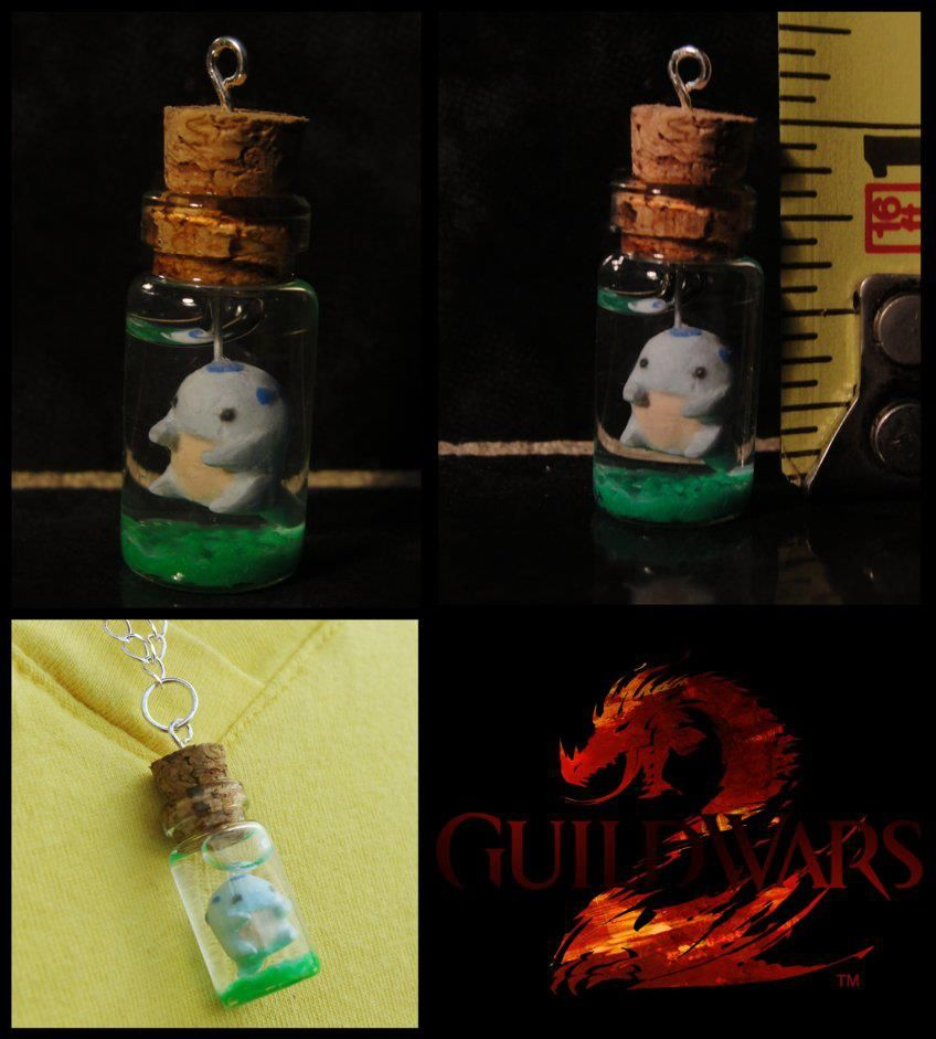 Quaggan in a bottle!! I NEED THIS. | Guild Wars 2