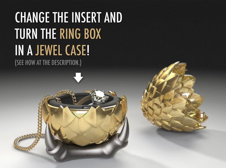 Dragon Egg Game Of Thrones Style Ring Box Proposal Ring Box Engagement Ring Box Ring Case Wedding Marriage Matrimony Geeky Geek In 2020 Proposal Ring Box Engagement Ring Box Ring Box
