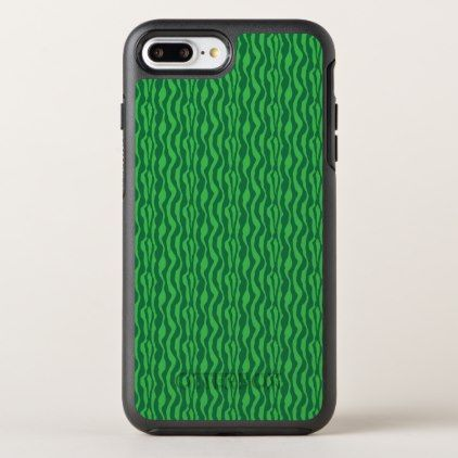 new arrival 2cc16 ee4ab Pretty Green Zebra Pattern OtterBox iPhone Case | Zazzle.com in 2019 ...