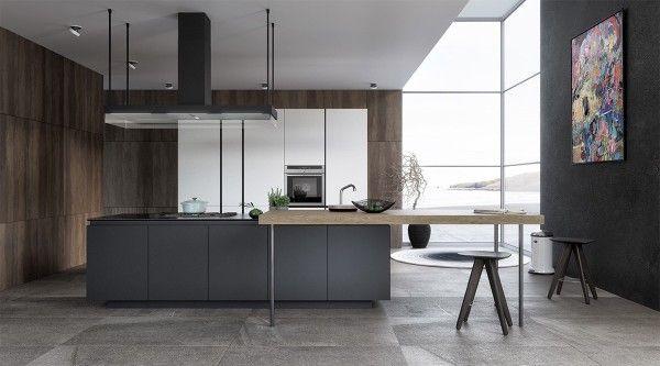 20 Sleek Kitchen Designs With A Beautiful Simplicity Sleek Kitchen Design House Design Sleek Kitchen
