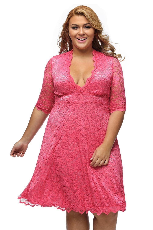 Grande taille femme robe de soiree