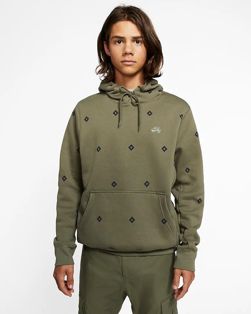 Nike Sb Icon Men S Printed Pullover Skate Hoodie Nike Com Print Pullover Mens Sweatshirts Hoodie Hoodies Men [ 1080 x 864 Pixel ]
