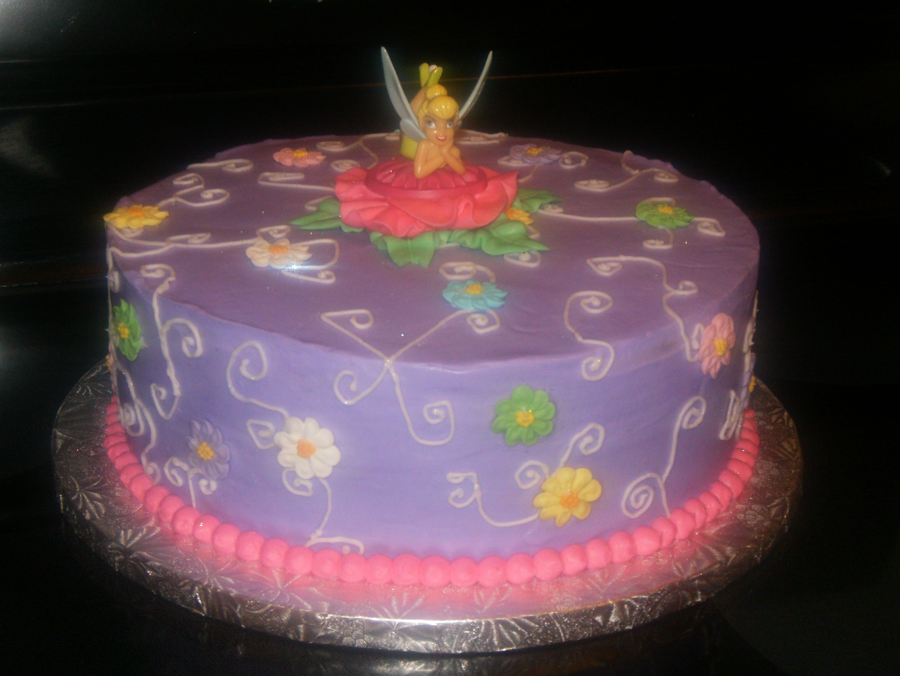 Tinkerbell birthday cake i want this for my birthday