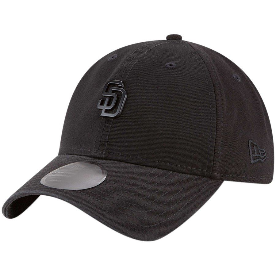 e277d07b Men's San Diego Padres New Era Black Micro Matte 9TWENTY Adjustable Hat,  Your Price: $25.99