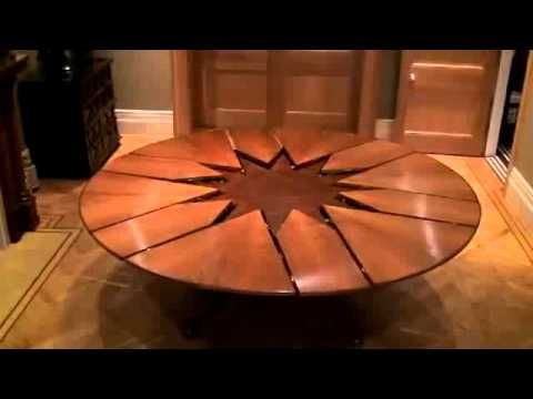 New Technology Table Expandable Round Dining Table Expandable