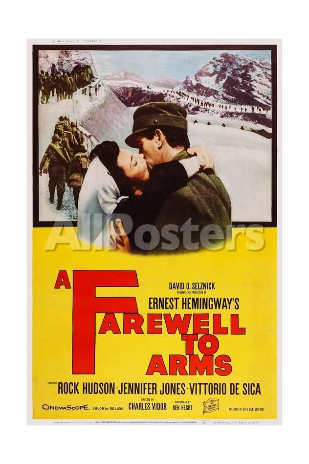 A Farewell To Arms Movies Art Print  Cm