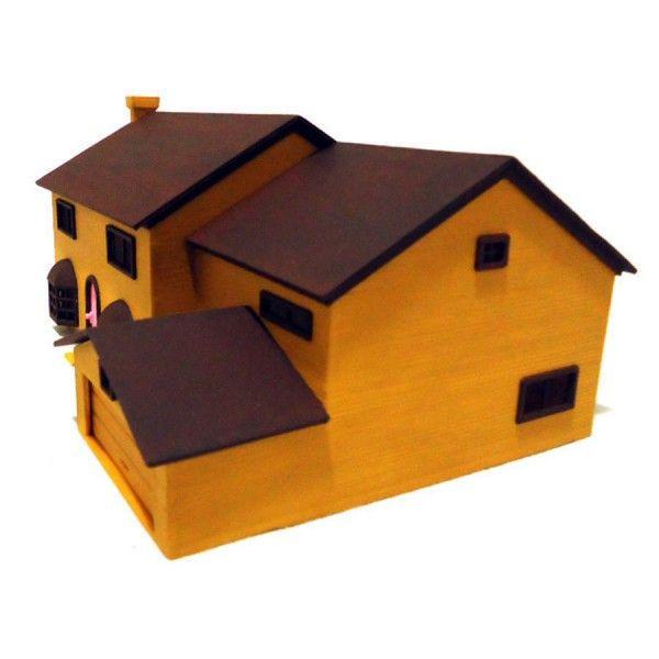 3D Printed Simpson House Cults 3 Blog Fichier3Dfr Pinterest 3d