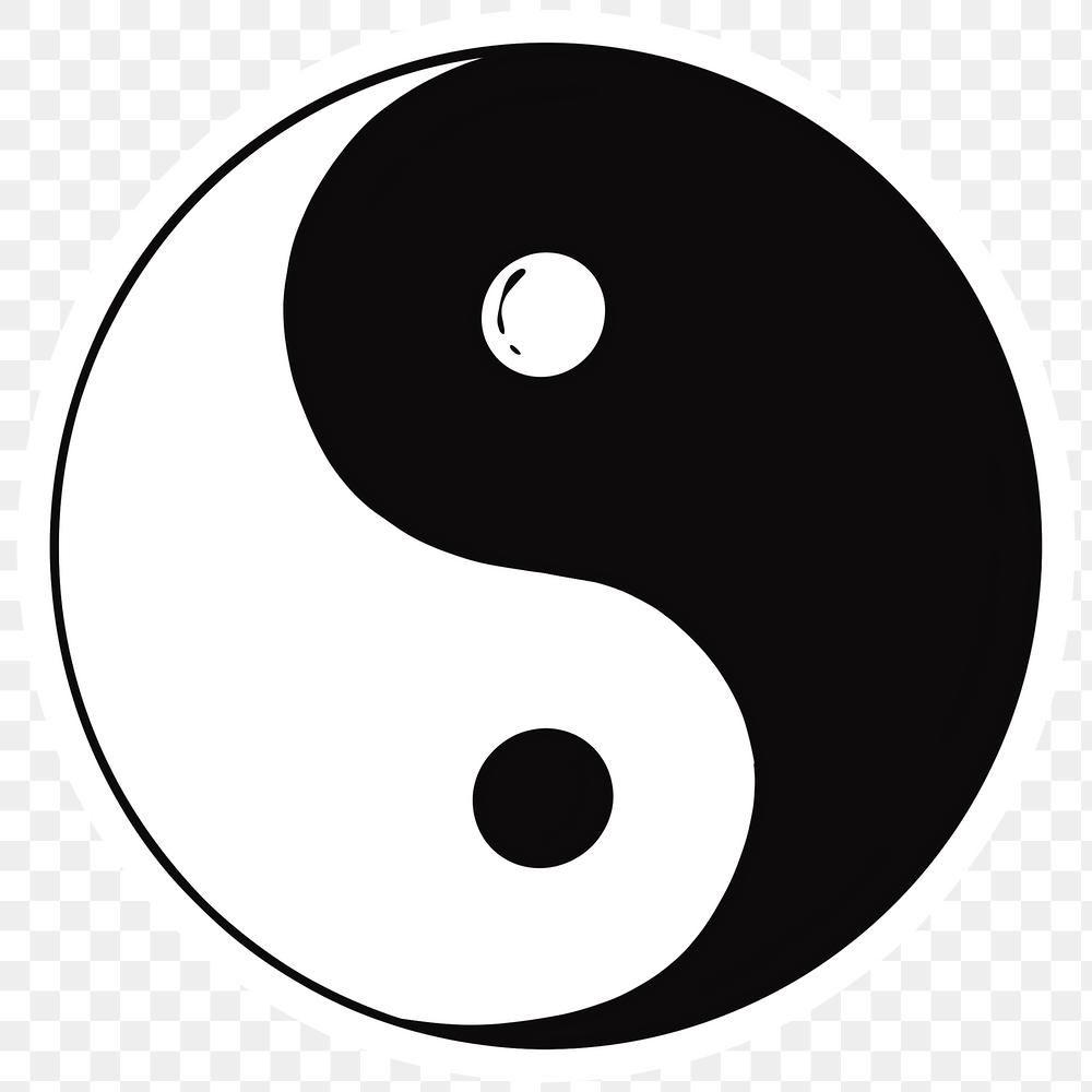 Balanced Yin Yang Symbol Png Sticker Free Image By Rawpixel Com Noon Yin Yang Png Fun Stickers