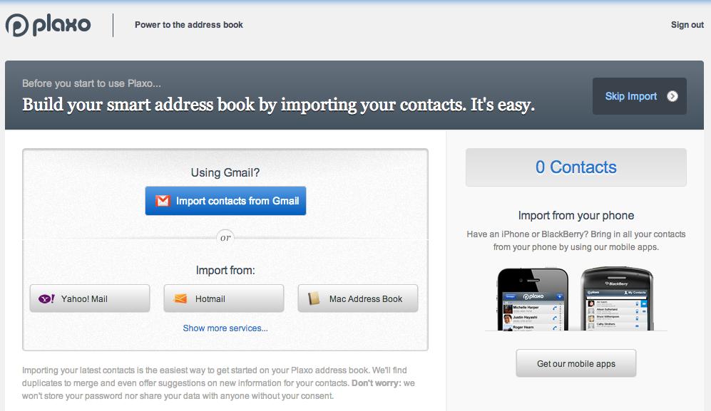best online address books