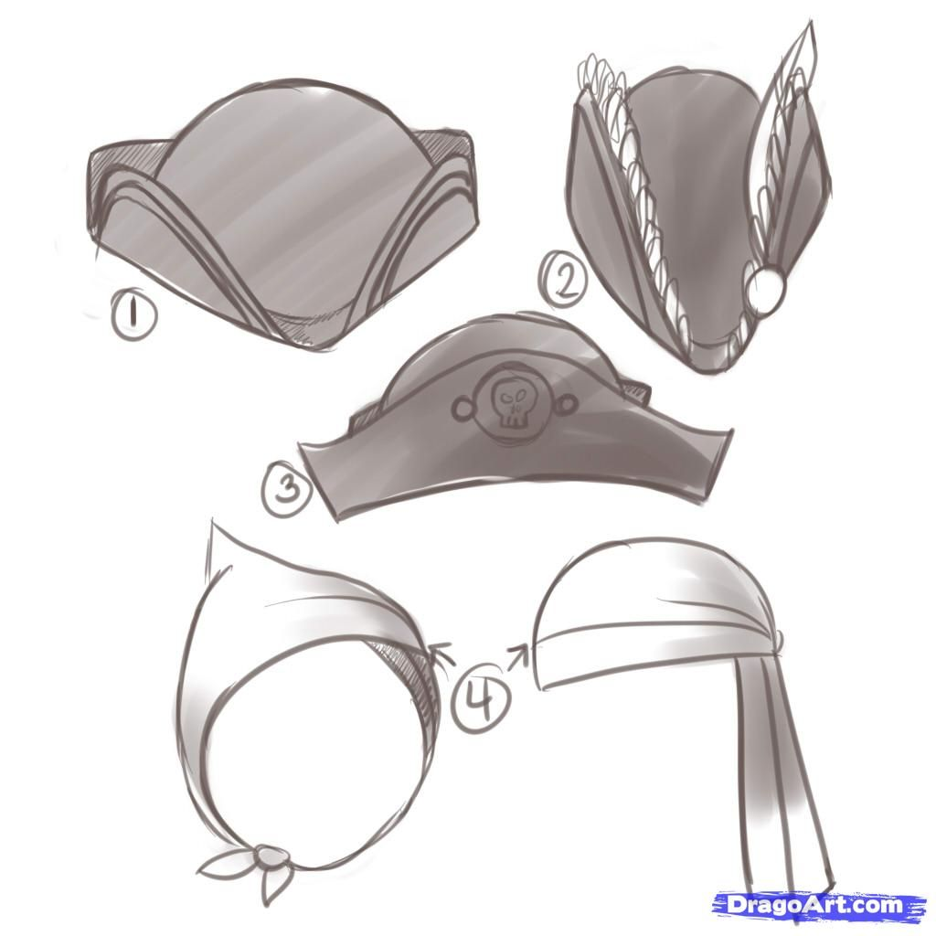 Image Result For Pirate Hat Anime
