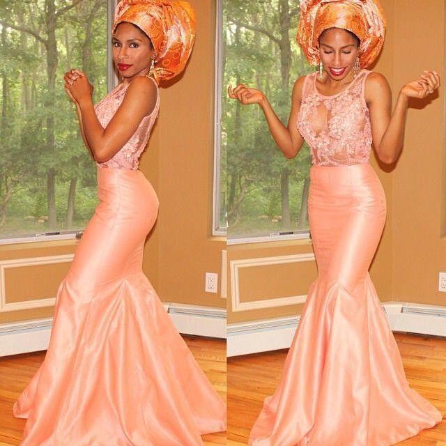 Nigerian Evening Dresses Lace