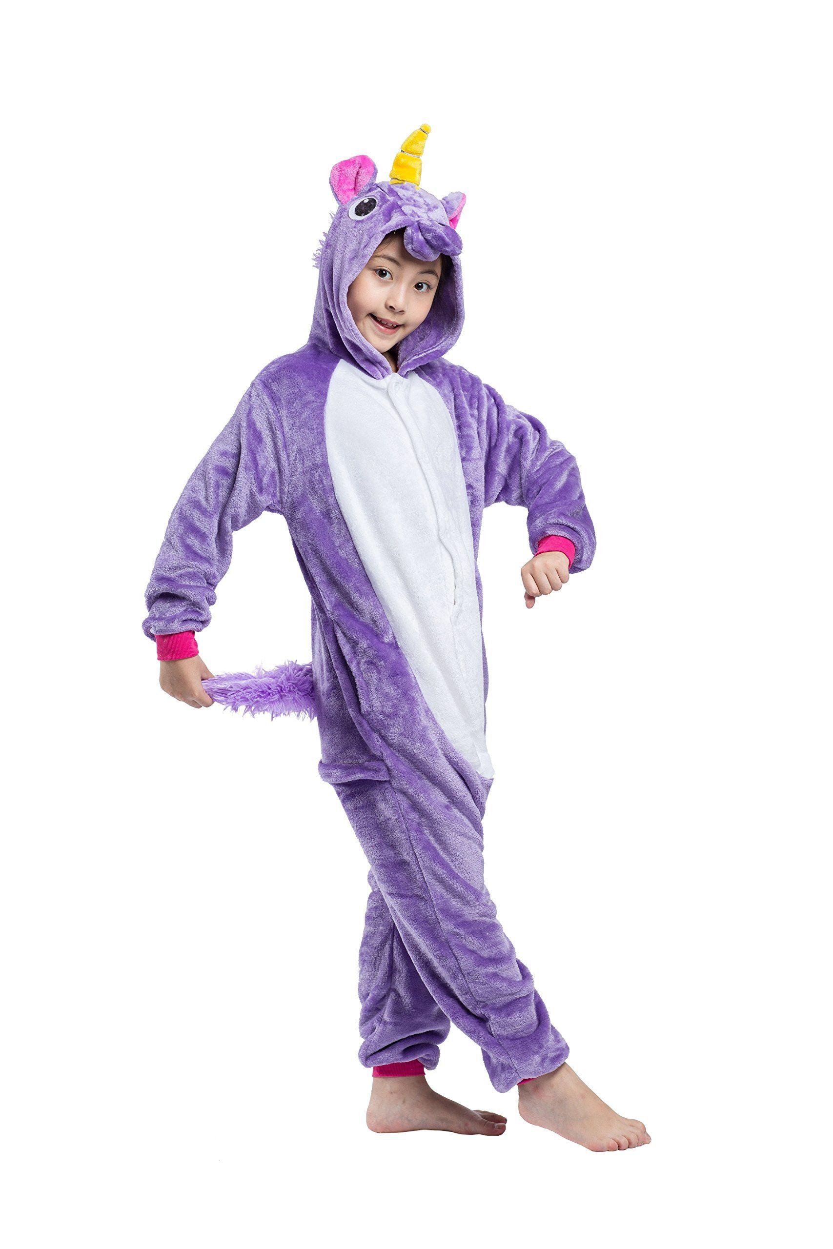 Yuwell Kids Unicorn Onesie Pajama Sleepwear Cosplay Costume Take A Look At The Photo By Visiting The L Onesie Costumes Unicorn Onesie Pajamas Animal Onesie