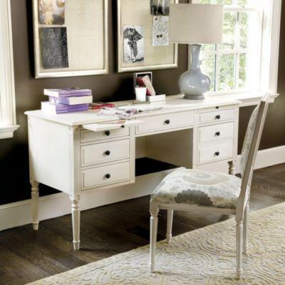 Isabella Desk Ballard Designs In Belgian Oak Francesca
