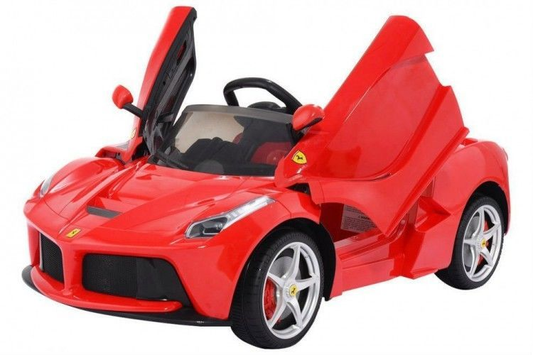 Ferrari Electric Car 12v For Kids Wheel W Remote Control Butterfly Doors Red Kidsrideontoys Kids Ride On Kids Ride On Toys Ride On Toys