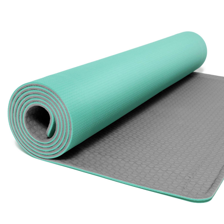 Cali Roll Seafoam 24 L X 72 W Yoga Fitness Yoga Sea Foam