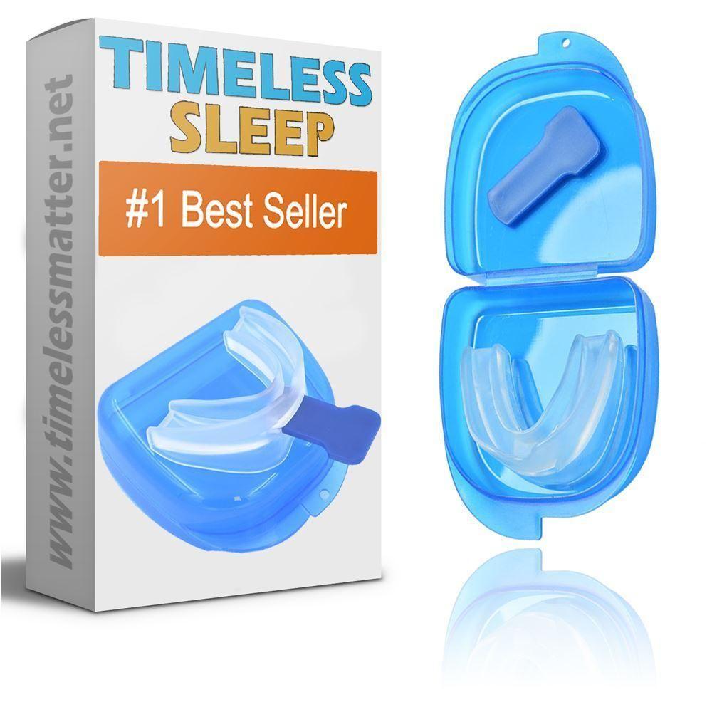 Sleep Apnea Mouthpiece Moldable Anti Snoring Mouth Guard