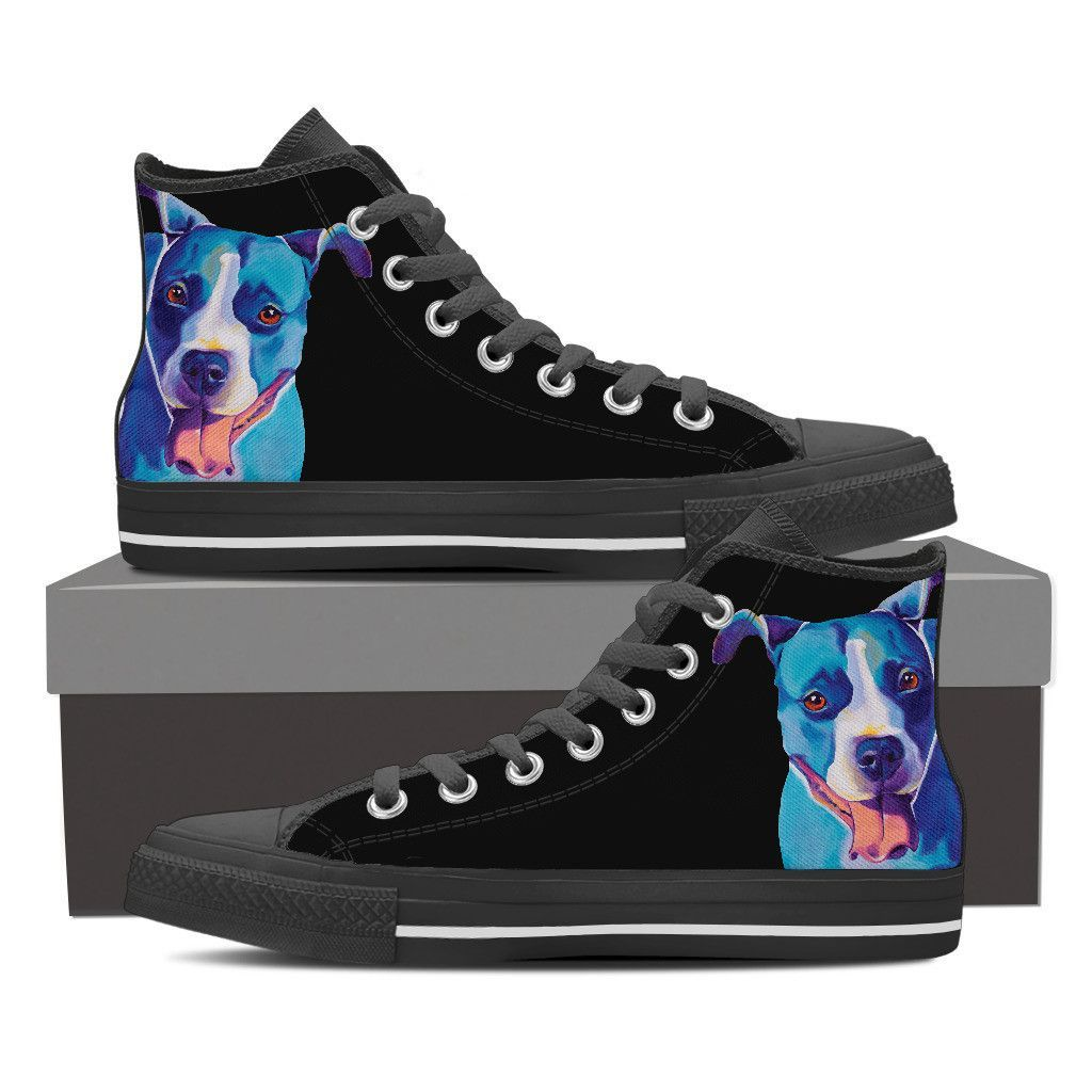 Pit Bull Leesa Ray Women High Top Shoes - Black