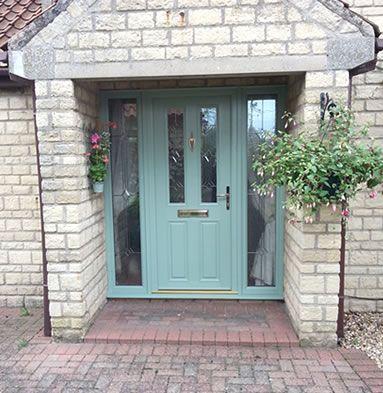 Green Front Door For The Home Pinterest Green Front Doors - Green front door
