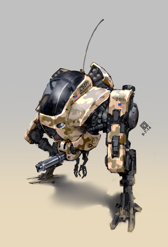 military mech by Docslav---GE