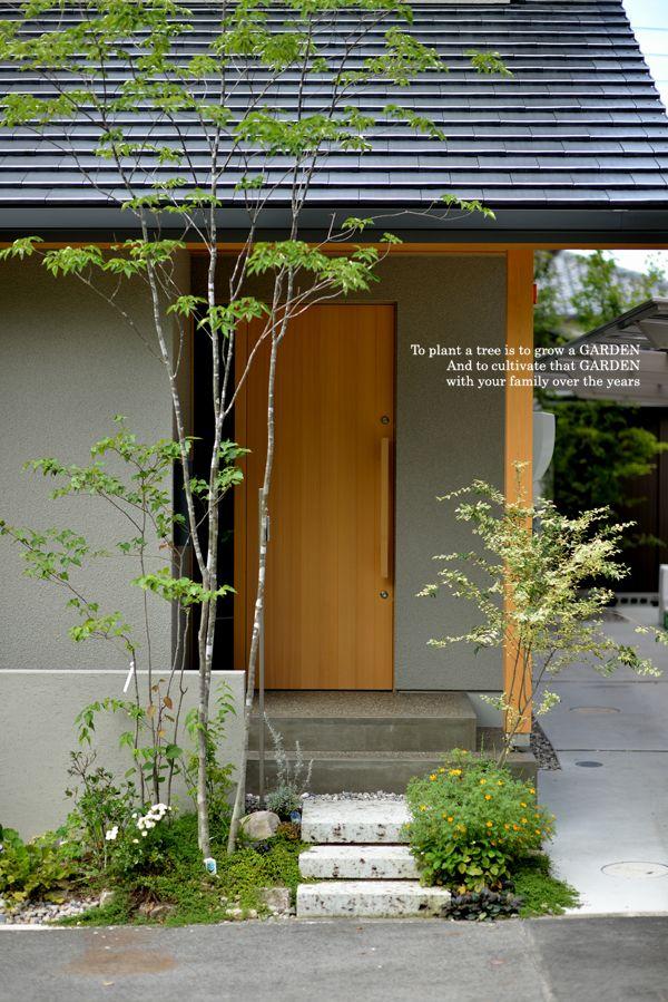 アオダモ画像 エクステリア 風景彫刻 日本の石庭