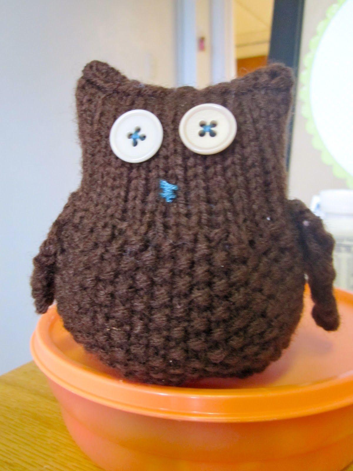 Owl Knitting Pattern Best Decorating Design