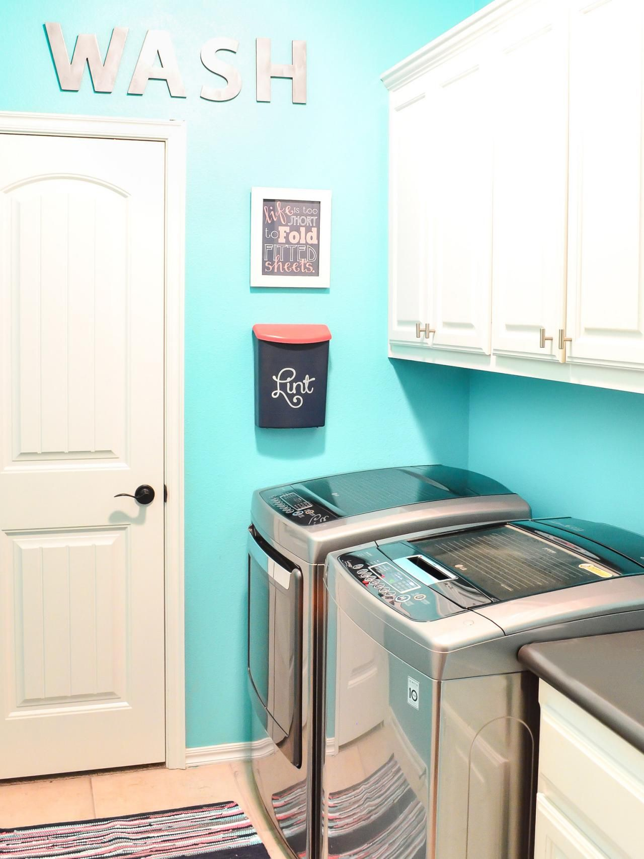 Explore small laundry room storage ideas at
