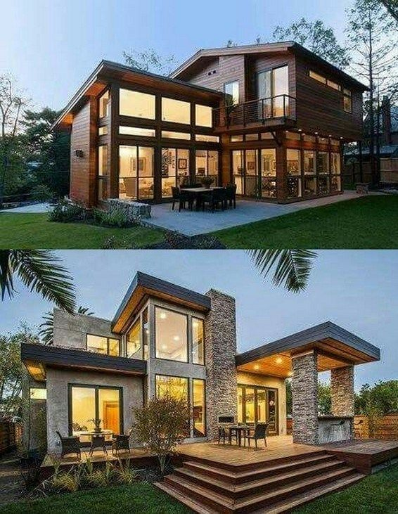 25 Stunning Modern Exterior Design Ideas With Images: 41 Stunning Ideas For Beautiful House 2019 29
