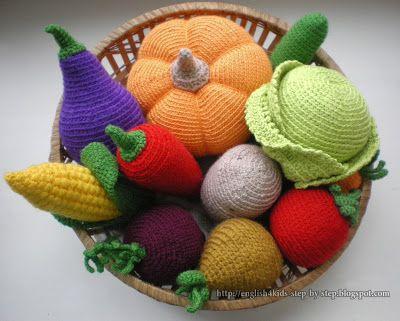 Amigurumi Vegetables : Crochet vegetables amigurumi crochet amigurumi