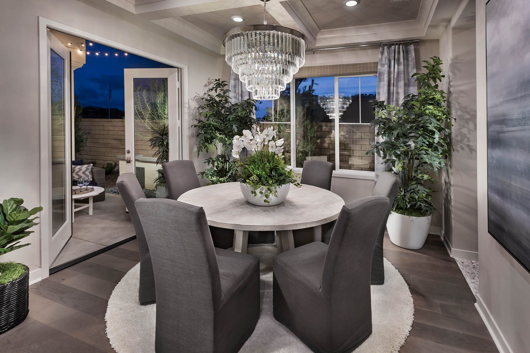 Ambrosia Interior Design With Images Beautiful Dining Rooms
