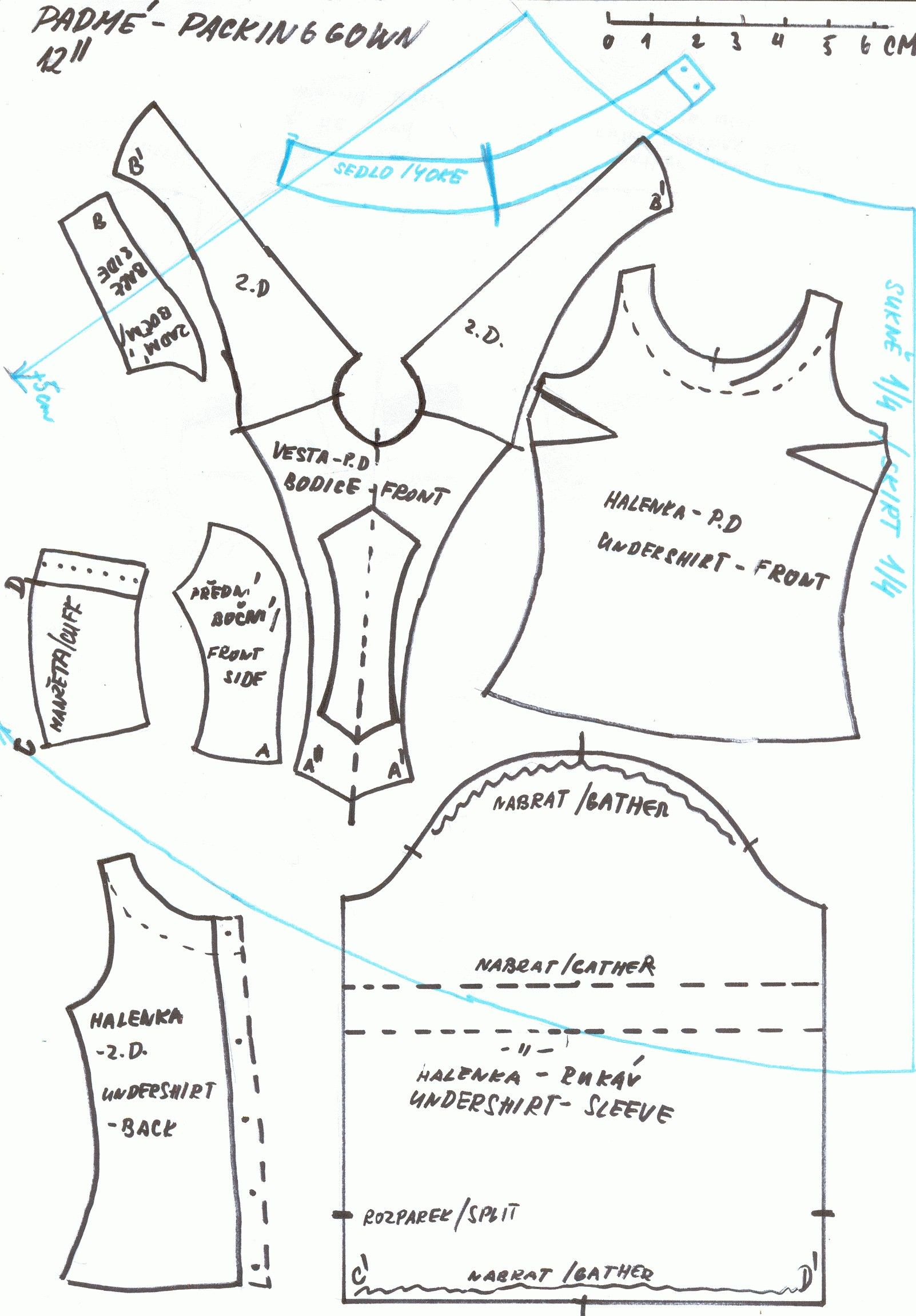Fan image intended for printable barbie clothes patterns
