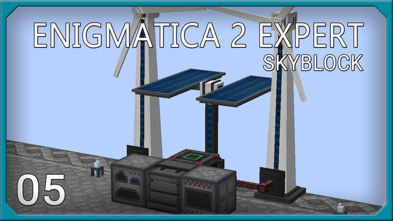 Enigmatica 2 Expert Skyblock EP5 Mekanism Power EnderIO