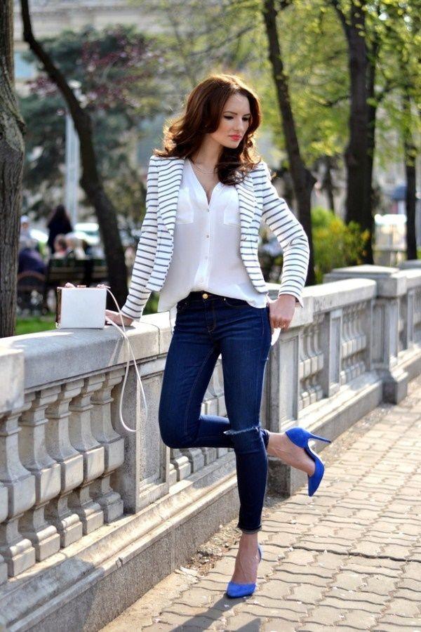 45 professionelle Büro-Outfits für Frauen für den Sommer ...