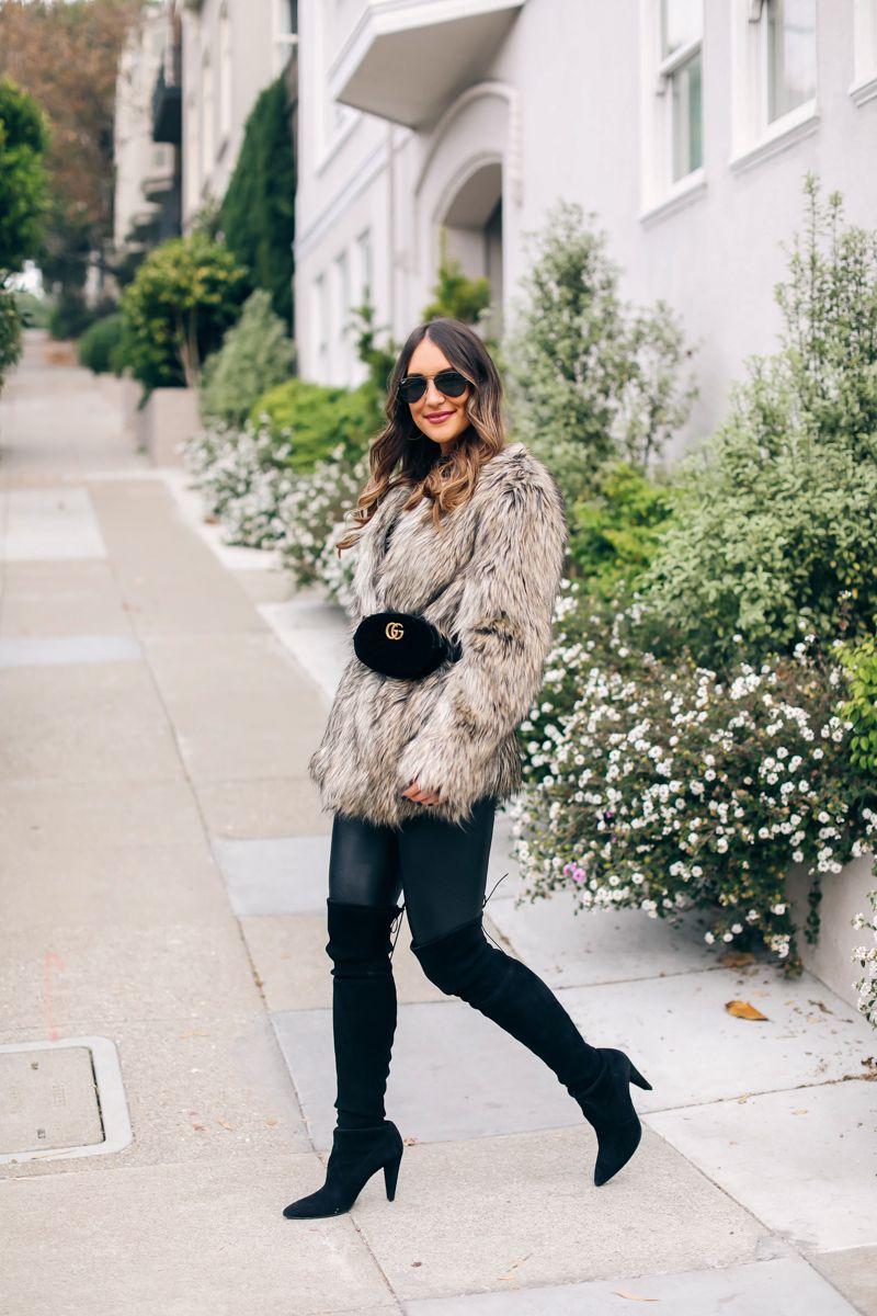 bbc4ea557c8e The Perfect Faux Fur Coat (Carrie Bradshaw Lied)