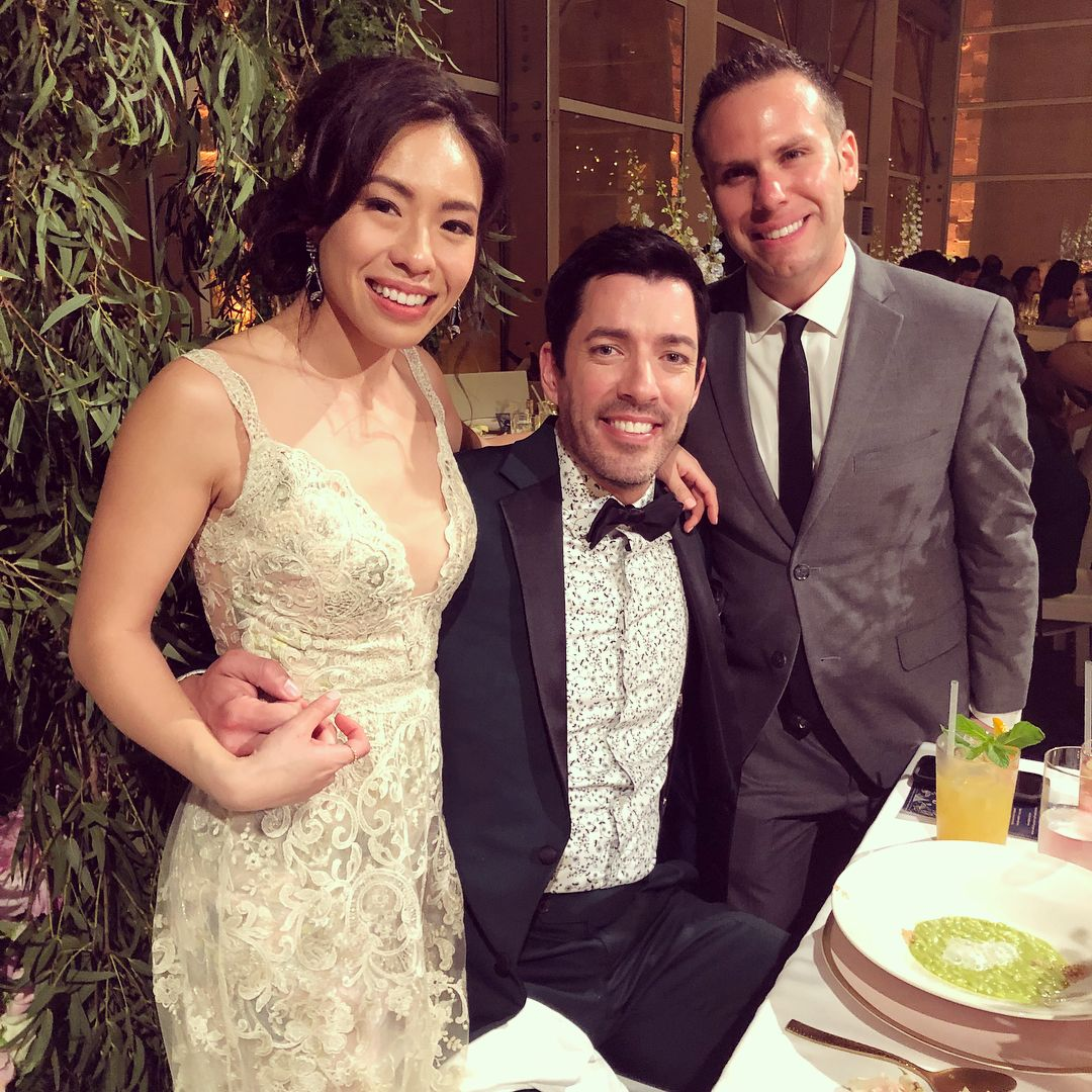 Property Brothers Wedding.Linda Phan Had Two Requests For Her Wedding Gown Before She Married