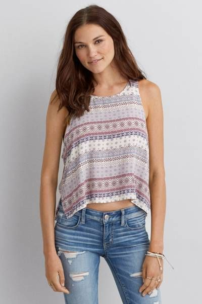83658dbd7 Don t Ask Why High Slit Tank by AEO