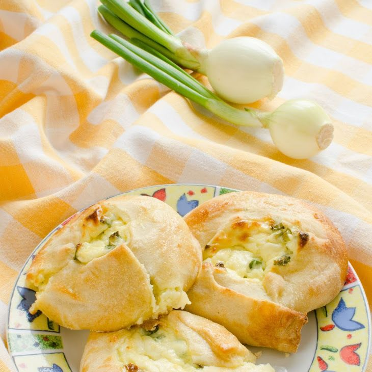 Cheese And Scallion Knishes Recipe Eastern European Recipes