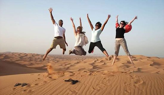 Instead of exploring Europe, you can ride camels in the Arabian Desert! From $1795 for 8 days