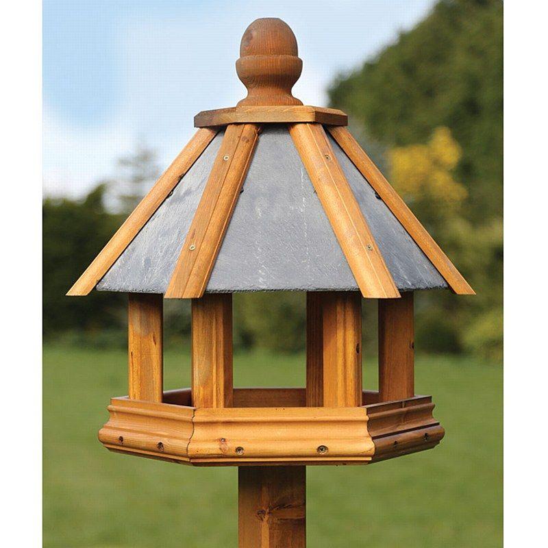 Hexagonal Bird Table Plans Bird Feeders Pinterest