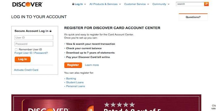 Discover Card Bill Pay - Login to Discover.com Online Payment