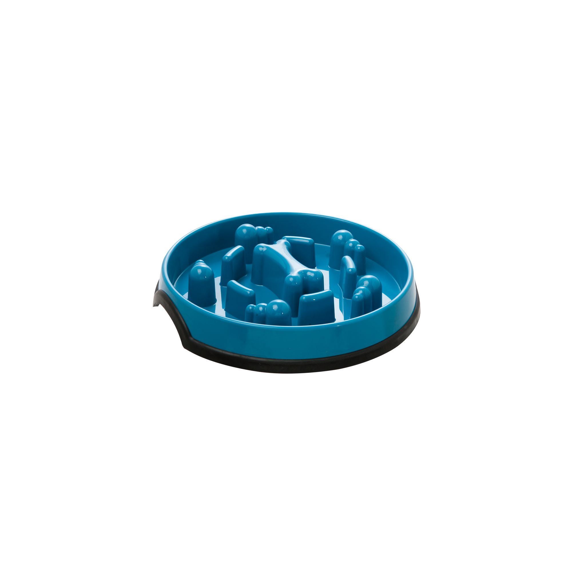 Kong Slow Feeder Puzzle Dog Bowl Blue Dog Bowls Slow Feeder