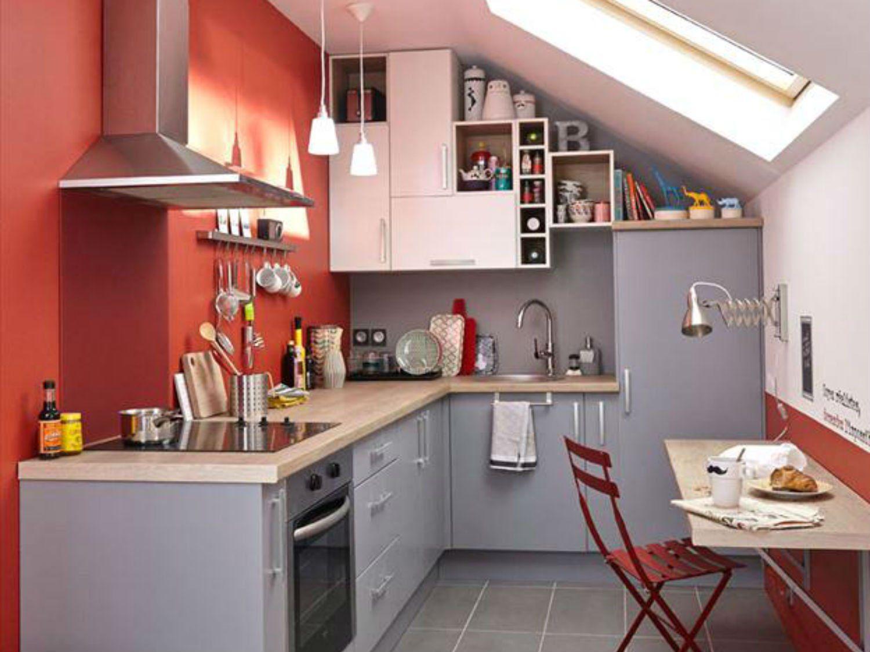 aménagement petit espace   Une cuisine de pro dans un petit espace   Leroy Merlin