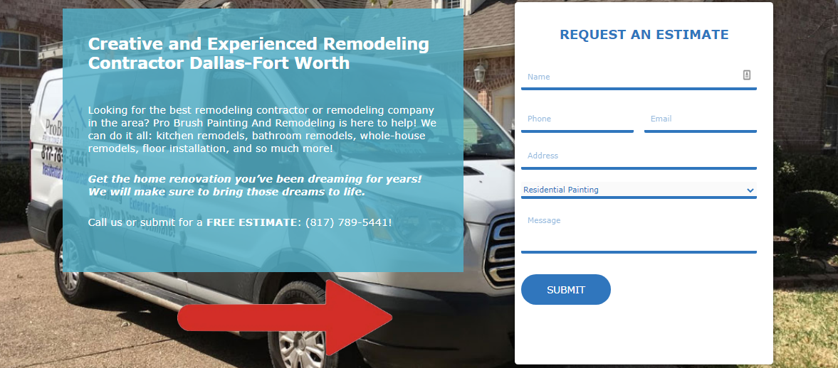 Remodeling Contractor DallasFort Worth Pro Brush