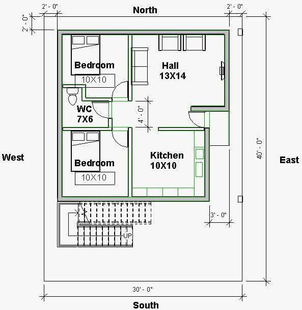 South Facing Home Plan Elegant Building Plans As Per Vastu For South Facing Escortsea Indian House Plans 30x40 House Plans 20x40 House Plans Small house plan as per vastu