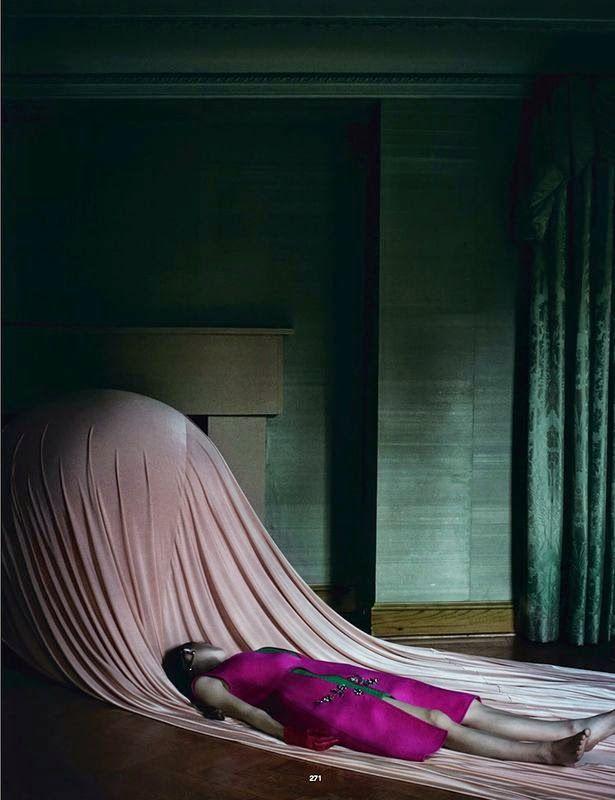 'Soften The Blow' Luca Gadjus by Julia Hetta for Dazed Fall 2014