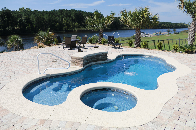 Laguna Deluxe Swimming Pool Fountains Fiberglass Pools Pool Water Features