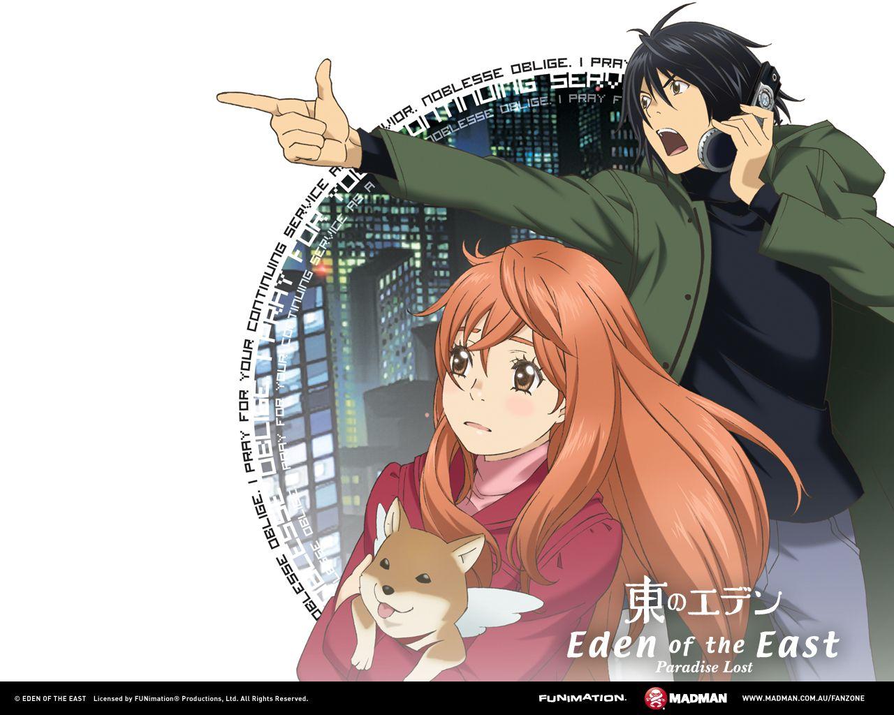 Eden Of The East Movie 2 Anime Anime Romance Anime Dvd