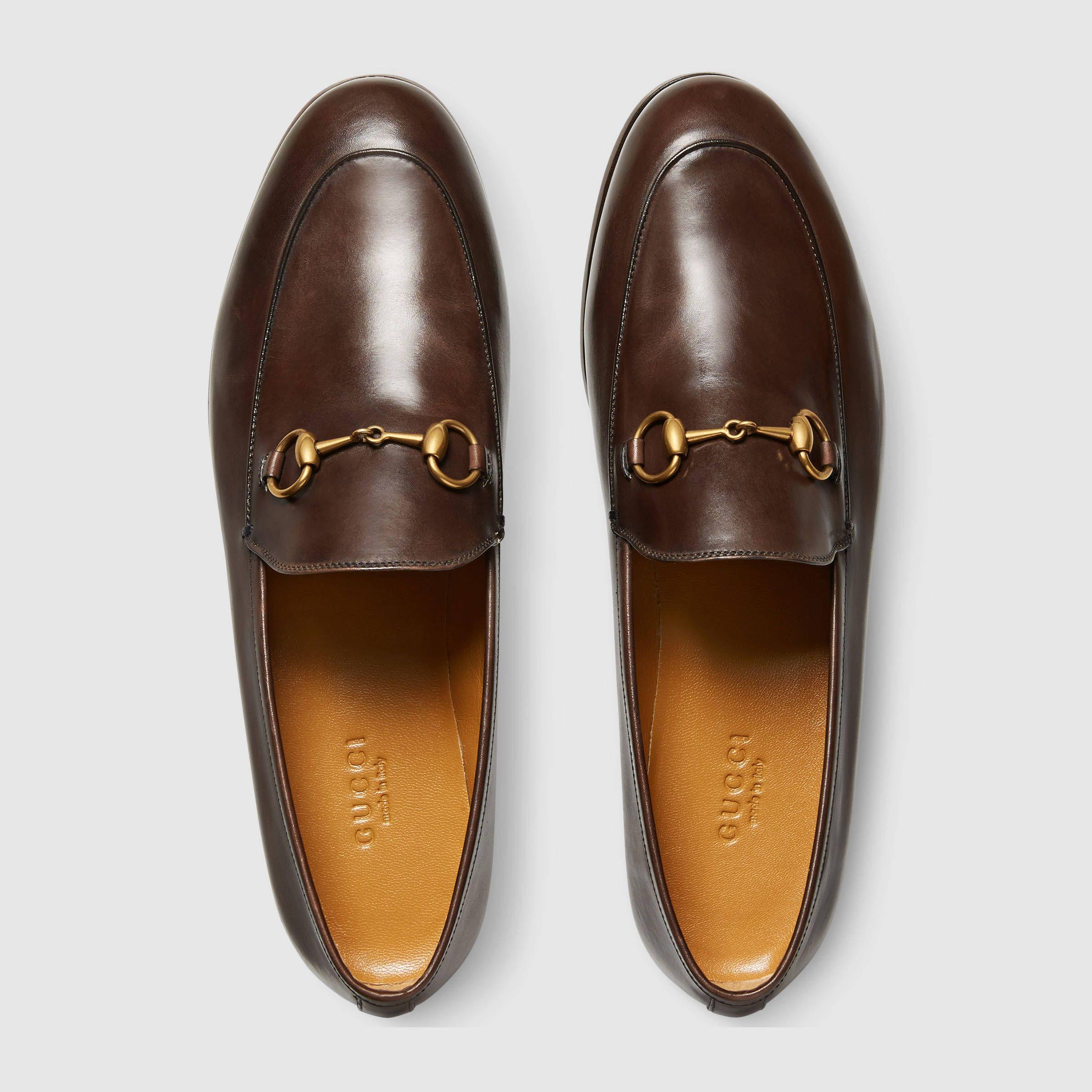 f34c2146cfd Gucci Jordaan Loafer w horsebit detail (Black Leather)