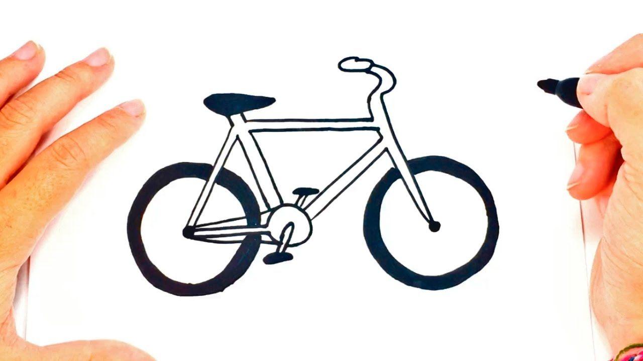 Taller De Bicicleta En Alicante Como Dibujar Una Bicicleta Bicicleta Dibujo Como Dibujar Facil
