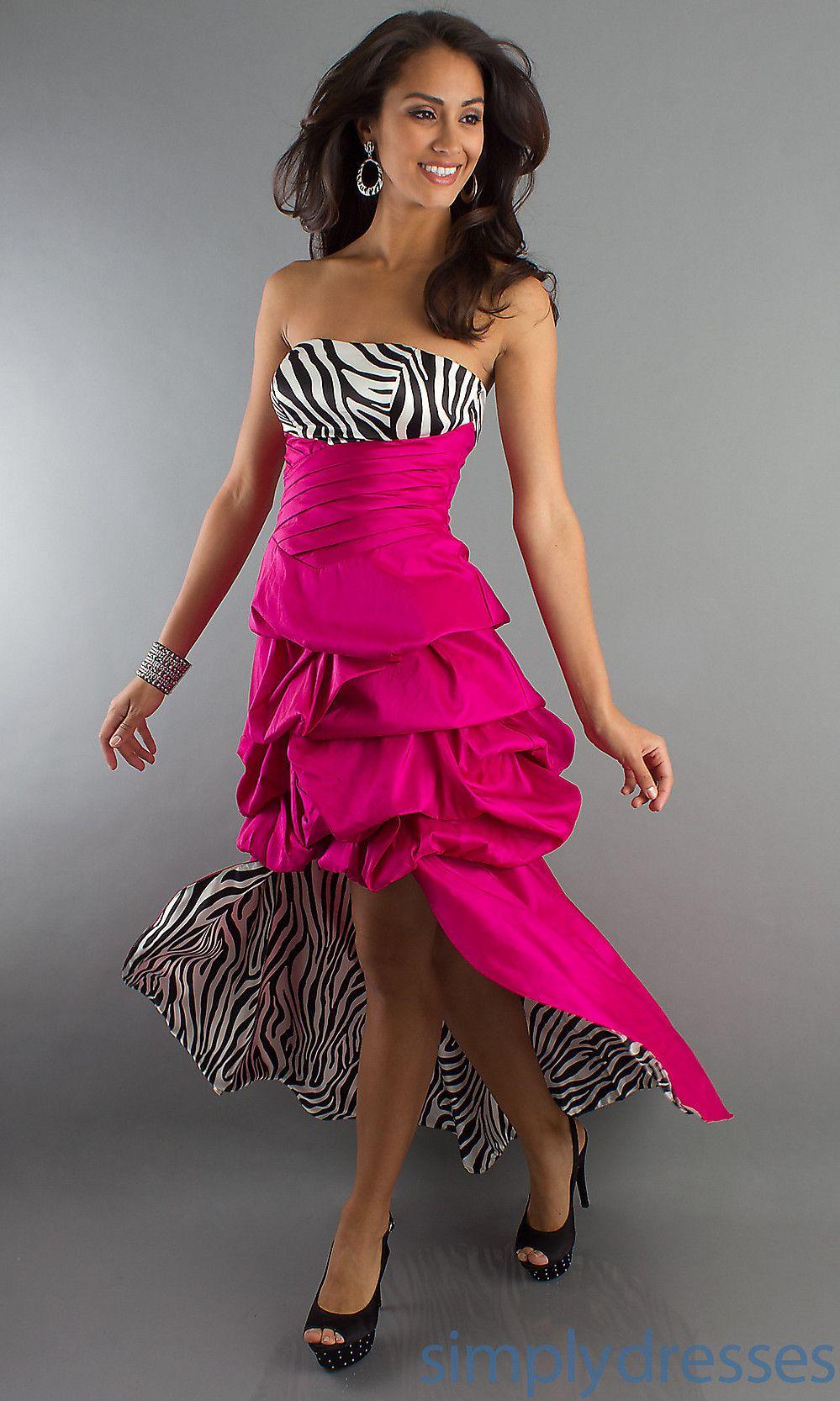 Zebra Print Bridesmaid Dresses - Ocodea.com